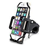 [Support Vélo du Guidon] VicTsing Support Universel Téléphone Rotatif à 360 Bracelet en Caoutchouc Taille Réglable Compatible avec iPhone SE ...