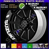 Suzuki Bandit GSX-R GSXR Vstrom Autocollants pour intérieur de roues 0274 010 Bianco