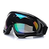 SYG(TM)Lunettes Moto Motocross Goggle Anti-UV Brouillard CE T301 Pour Honda Yamaha Suzuki