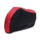 Taille L Longeur Max. 225cm Housse BACHE MOTO Scooter impermeable cache protection Couleur Noir