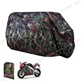 Taille XL Longeur Max. 245cm Housse BACHE MOTO Scooter impermeable cache protection Couleur camouflage