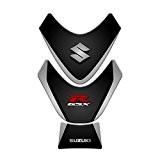 TANK Pad para réservoir pour moto suzuki gSXR 2009-2015| Stickers Suzuki gp-150 Dark Grey