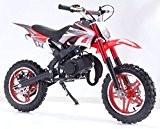 TAOTAO Dirt Bike 50 cc 2 Temps DB10SA noir / rouge
