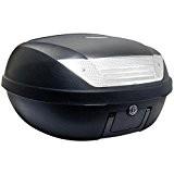 Top Case Moto S-Line 52L Noir Mat Dim : 58x45x32.5cm (2 Casques) Platine et Poignée