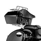 Topcase rigide + supports Yamaha XVS 1300 A Midnight Star 07-16