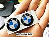 Totalstickers Kit 2 autocollants 3D en résine pour moto BMW Logo GP SBK 4 cm