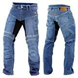Trilobite Parado Jeans de moto renforcé en Kevlar Dupont Bleu