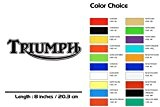 Triumph Motorcycle Sticker Stripe Decal Superbike GB