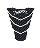 Triumph Tiger 800 protection de réservoir carbone
