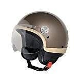 Vespa casque jet à visière