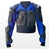 Veste pour protection dorsale - bleu - taille M