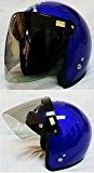 Visière rabattable transparente pour casque, 3 boutons, pour casques Bandit, DMD, Yam, Biltwell, Bell