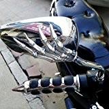 ViZe 10mm Rétroviseurs Latéraux Moto Miroir Arrière Universel Pour Honda Kawasaki Suzuki BMW KTM Truimph Hyosung Chopper Street Sport Bike ...