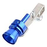 VORCOOL Voiture Turbo Sound d'échappement sifflet Pipe échappement Blow-Off Valve Simulator - taille M (couleur bleu)