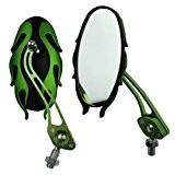 vue arriere de la moto - TOOGOO(R)moto Universal miroirs velo / vue arriere de la moto de 10MM paire de ...