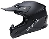 YEMA YM-915 Casque Motocross Moto-Noir-M