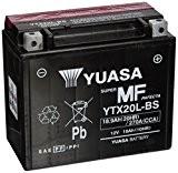YUASA YTX20L-BS Batterie de Moto