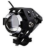 Yunshangauto® 12v 125w CREE U5 LED Lampe LED Phare Avant Antibrouillard Spotlight pour Moto / VTT / Camion / vélo ...