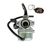 ZY Carburateur PZ19 Pour Quad Enfant 4 temps 50cc 70cc 90cc 110cc 125cc Starter Main
